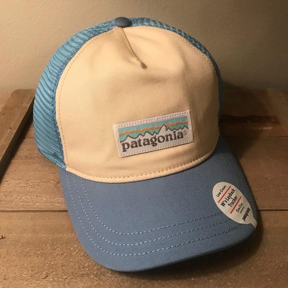 NWT Patagonia Pastel P-6 Label Layback Trucker Hat 259399c84824